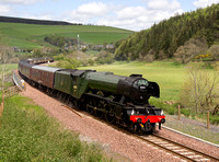 Flying Scotsman on the Borders Line