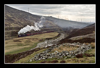 Steam in Glen Garry