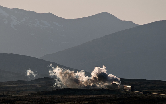 Mountain, Moor and Steam